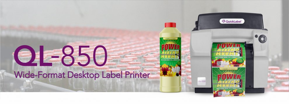 QL-850 etikettskrivare